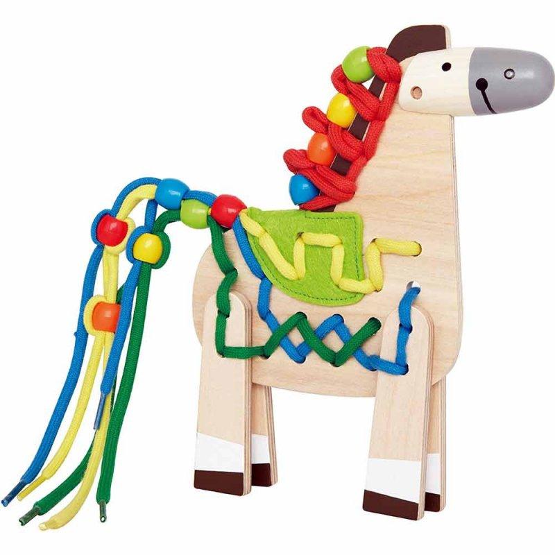"""Игрушка-шнуровка пони """"Lacing Pony"""", Hape"""