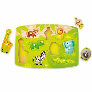 "Пазл ""Jungle Peg Puzzle"", Hape"