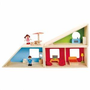 """Деревянный дом-трансформер """"Geometrics House"""", Hape"""