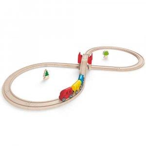 """Набор железной дороги """"Восьмерка"""", Hape"""