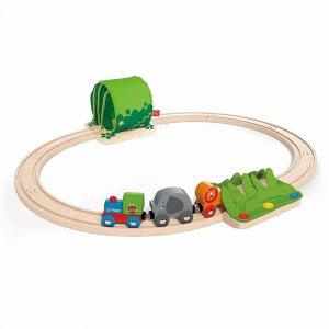 """Набор железной дороги """"Путешествие по джунглям"""", Hape"""