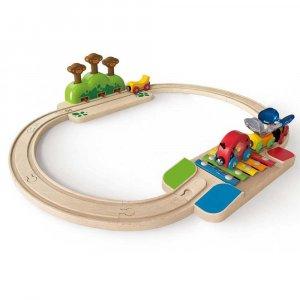 """Набор """"Моя маленькая железная дорога"""", Hape"""