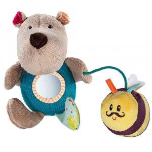 """Ручная игрушка-погремушка """"Медведь Цезарь"""", Lilliputiens"""