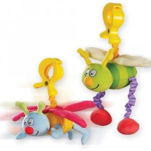 """Игрушка-подвеска на прищепке """"Жужу"""", Taf Toys"""