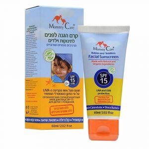 Органический солнцезащитный детский крем для лица, Mommy Care