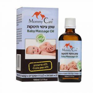 Миндальное масло для массажа младенцев с лавандой, ромашкой, геранью, календулой, Mommy Care