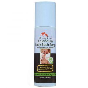 Средство для купания младенцев с органической календулой, Mommy Care
