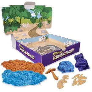 """Набор песка для детского творчества """"Dino"""", Kinetic Sand"""