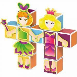 "Магнитные кубики MAGICUBE ""Принцесса"", Geomag"