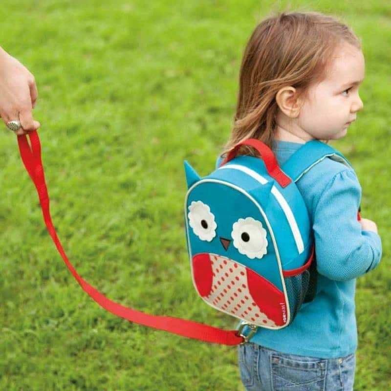 "Рюкзак с ремешком безопасности ""Совёнок"", Skip Hop"