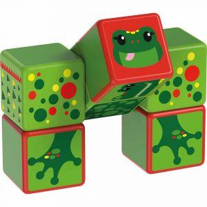 """Магнитные кубики MAGICUBE """"Речные животные"""", Geomag"""