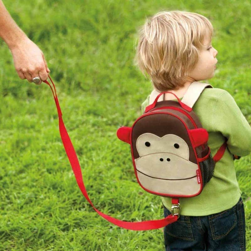 "Рюкзак с ремешком безопасности ""Мартышка"", Skip Hop"