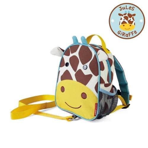 "Рюкзак с ремешком безопасности ""Жираф"", Skip Hop"