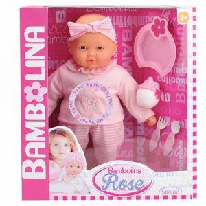 """Говорящая кукла """"Роза"""" 38 см, Bambolina"""