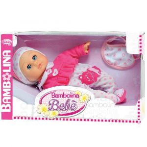 """Говорящая кукла """"Малышка Флора"""" 34 см, Bambolina"""