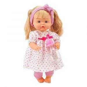"Говорящая кукла ""Nena маленький стилист"" 36 см, Bambolina"