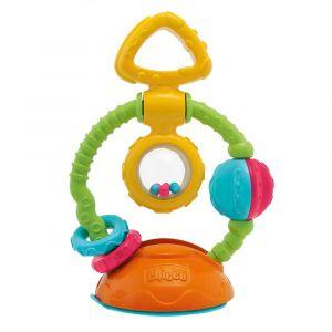 """Игрушка-погремушка на присоске """"Touch & Spin"""", Chicco"""