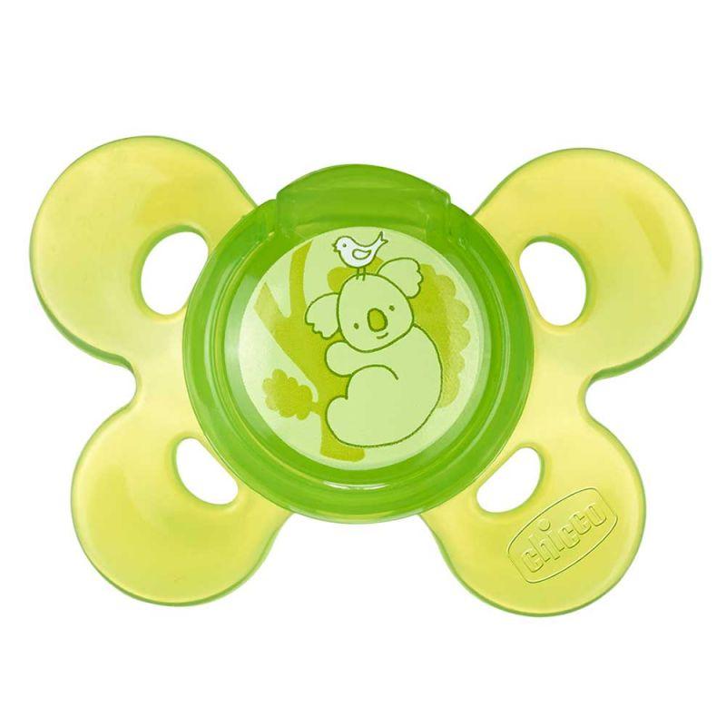 Пустышка силиконовая зеленая Physio Comfort 1 шт., Chicco