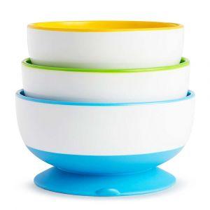 Набор детских тарелок на присосках Munchkin