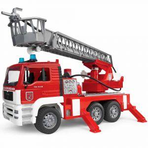"""Игрушка """"Пожарный грузовик с лестницей"""", Bruder"""