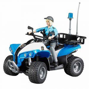 """Игрушка """"Полицейский квадроцикл"""", Bruder"""