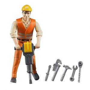 "Игрушка ""Фигурка строителя"", Bruder"