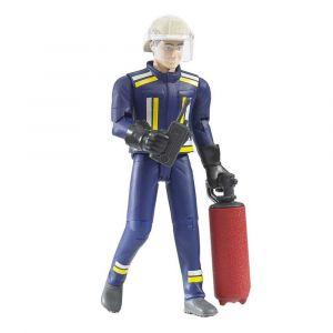 """Игрушка """"Фигурка пожарника"""", Bruder"""