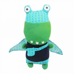 "Мягкая игрушка ""Крокодил Super Zero"", Deglingos"