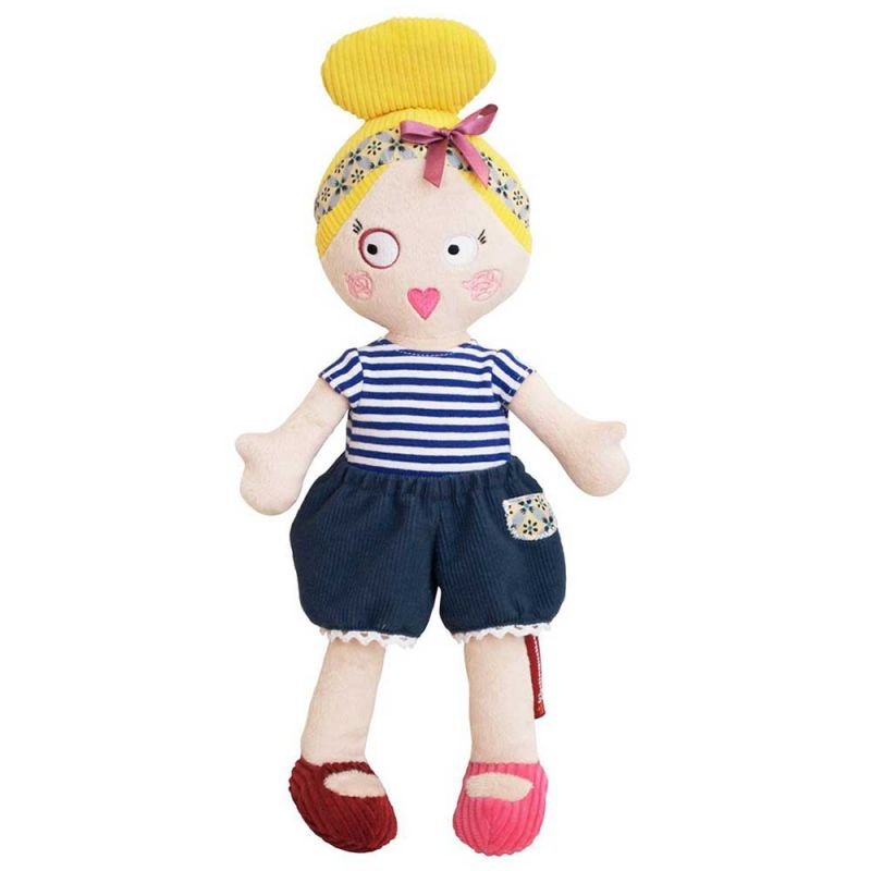 "Мягкая кукла ""Mistinguette Colette"", Deglingos"