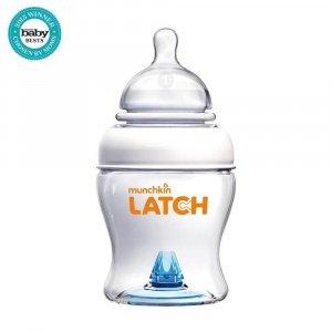 Бутылочка пластиковая для кормления 120 мл LATCH, Munchkin