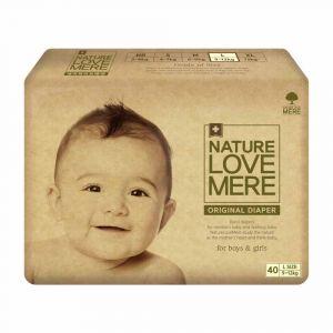Подгузники (L), 9-12 кг, Nature Love Mere