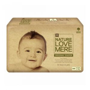 Подгузники (M), 6-9 кг, Nature Love Mere