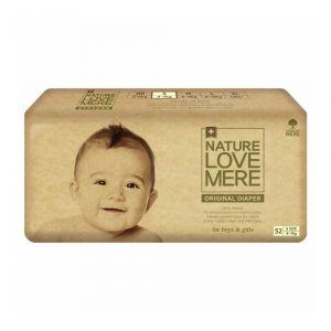 Подгузники (S), 4-7 кг, Nature Love Mere