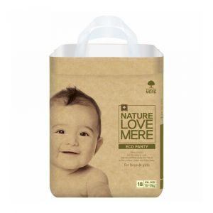 Подгузники-трусики (XXL), 13-17 кг, Nature Love Mere