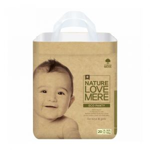 Подгузники-трусики (XL), 11-14 кг, Nature Love Mere