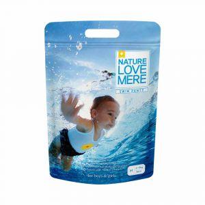 Подгузники-трусики для плавания (M), 6-9 кг, Nature Love Mere