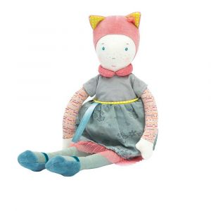 "Мягкая игрушка-кукла ""Mademoiselle"", Moulin Roty"