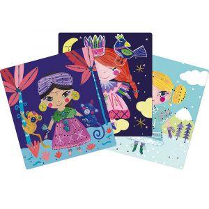 """Карточки для вышивания """"Принцесса"""", Moulin Roty"""