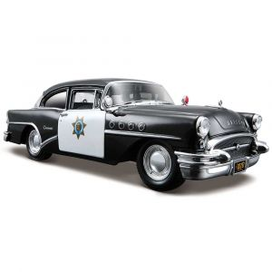 "Автомодель ""Buick Century Police 1955"", Maisto"