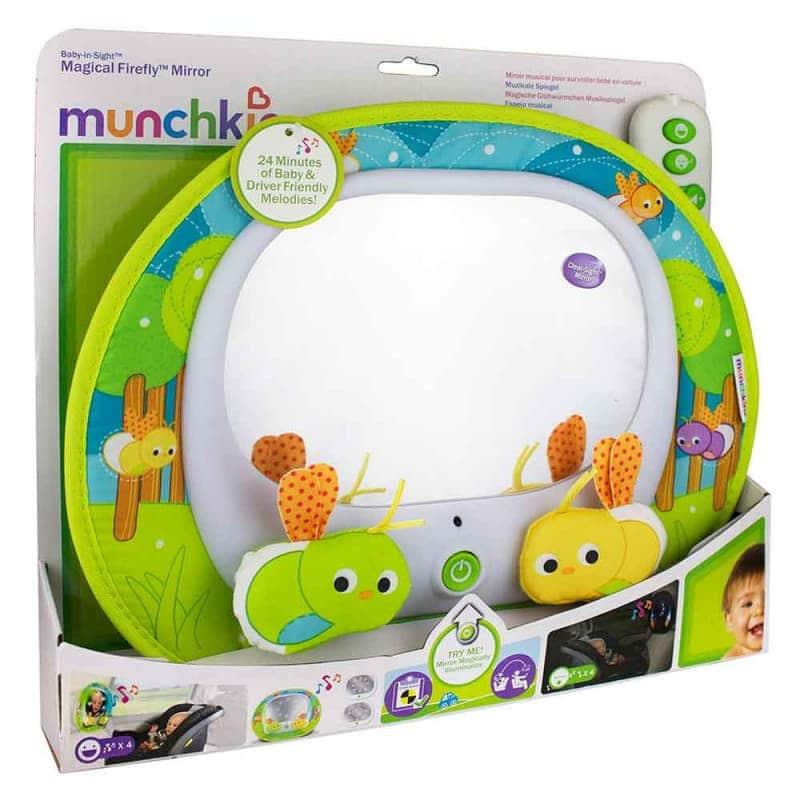 "Музыкальная панель с зеркалом для автомобиля ""Magical Firefly"", Munchkin"