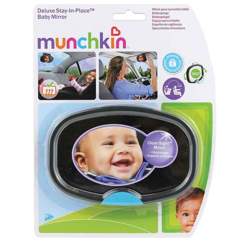 """Автомобильное зеркало для ребенка """"Stay-in-Place"""", Munchkin"""