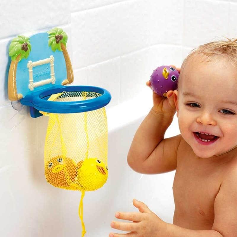 """Игрушечный набор для ванной """"Баскетбол"""", Munchkin"""