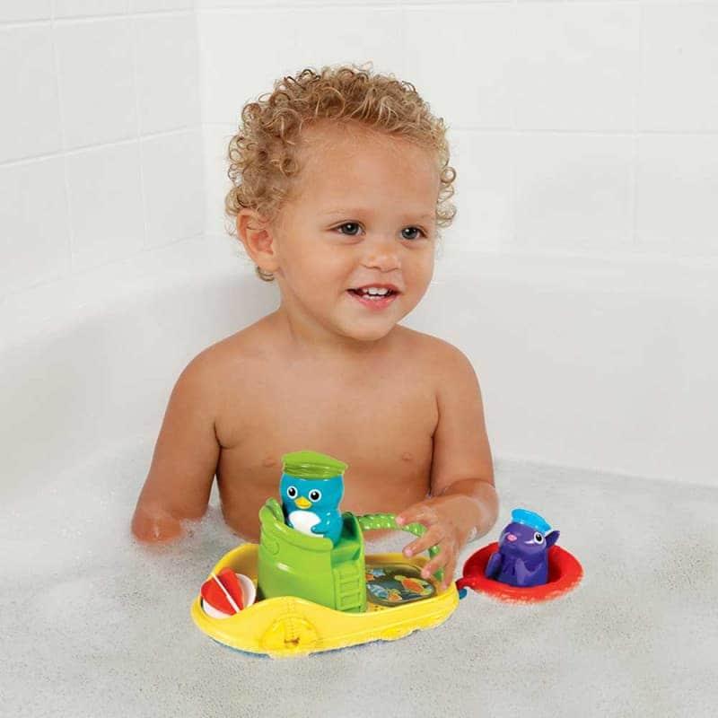 """Игрушка для ванной """"Веселая лодочка"""", Munchkin"""