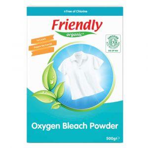 Сухой кислородный порошок-пятновыводитель, Friendly Organic