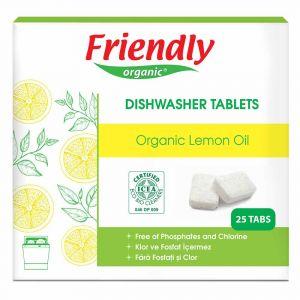 Таблетки для посудомоечной машины, Friendly Organic