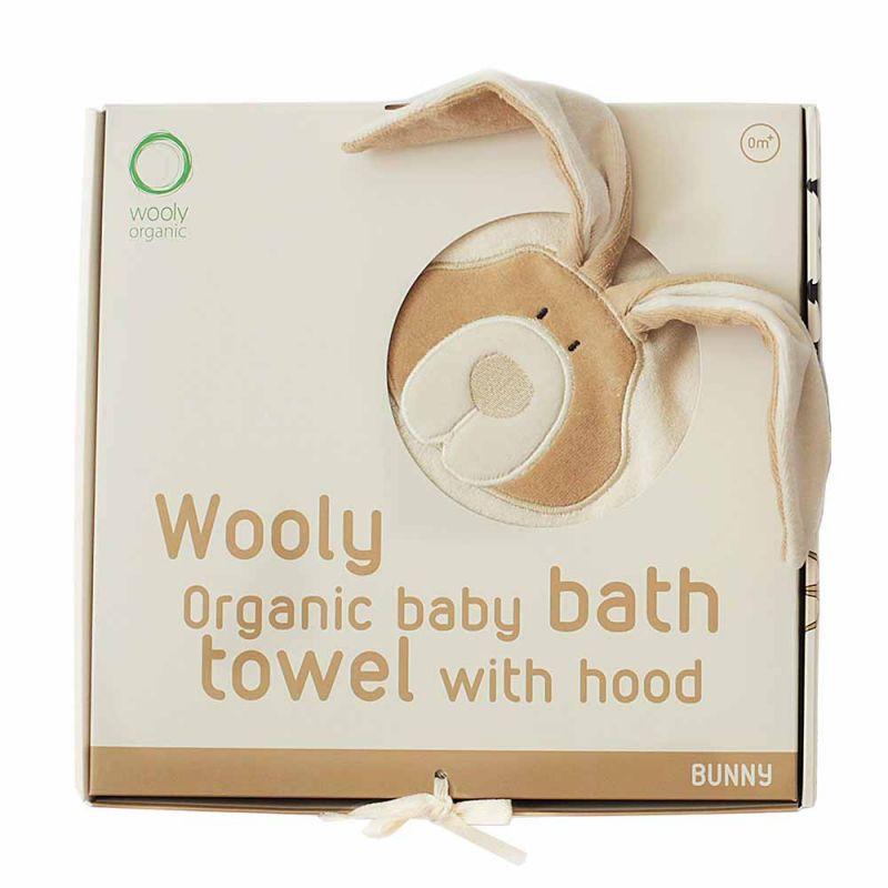 """Полотенце с уголком """"Заяц"""", Wooly Organic"""