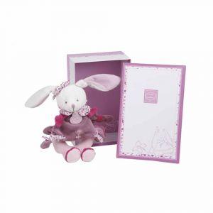 "Мягкая игрушка-погремушка ""Кролик"", Doudou et Compagnie"