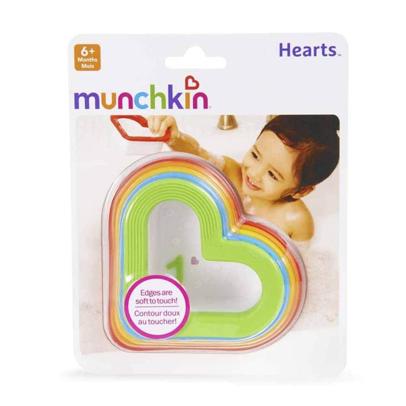 """Игрушечный набор для ванной """"Сердечки"""", Munchkin"""