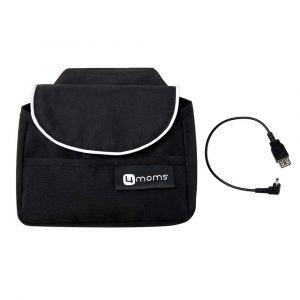 """Ручная сумка и USB-коннектор для коляски """"Origami"""", 4moms"""