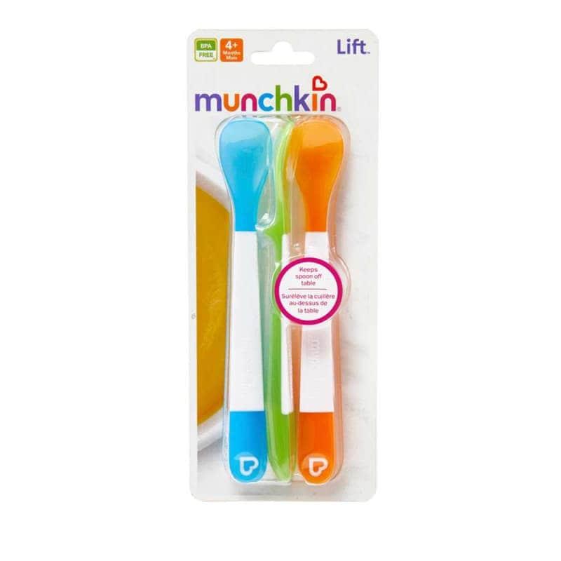 Силиконовые ложки, набор 3 шт, Munchkin